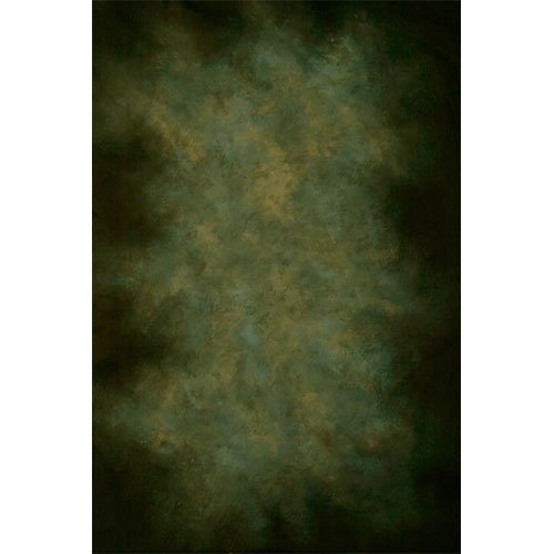 Printed Photography Background dark green old masters Titanium Cloth TC9375 Backdrop 8'x8' Ft (96''x96'') Better Then Muslin or Canvas by PHOTOGRAPHY OUTLET