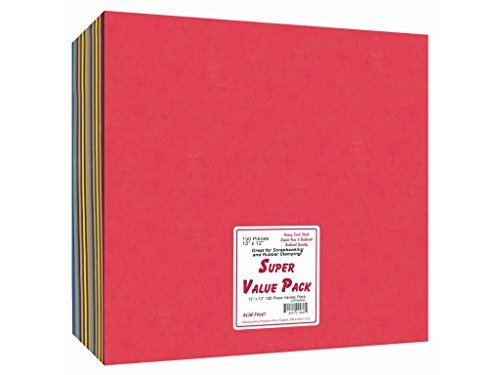 Accent Design Paper Accents SuperValueVarietyPack12x12150 -