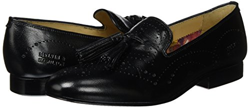 SHOES amp; Slipper CLASS Perfo Black Mila MELVIN Schwarz M HAMILTON HAND MADE Ls Black 10 Damen nat Salerno amp;h MH OF aXPPq1d
