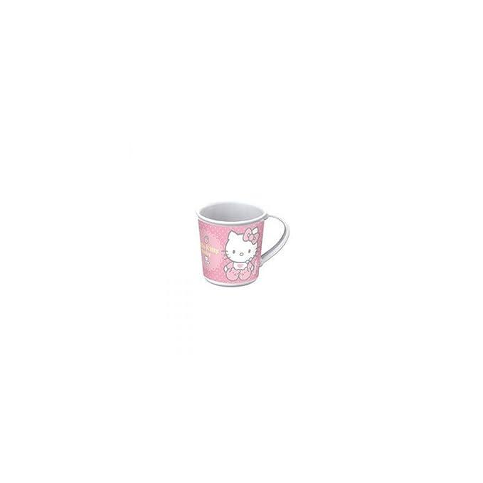 Hello Kitty - Taza para microondas rosa: Amazon.es: Bebé