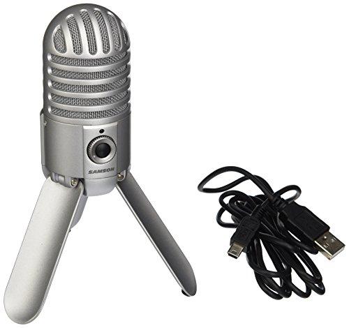 samson meteor mic usb studio microphone brushed nickel buy online in uae musical. Black Bedroom Furniture Sets. Home Design Ideas