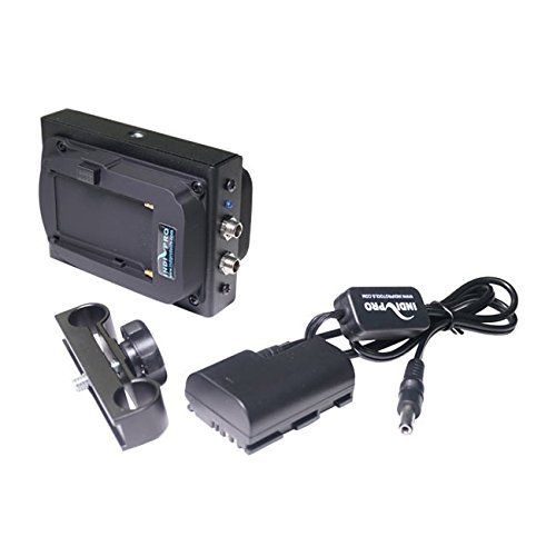 IndiPRO Tools Dual Sony L-Series Power System to Canon LP-E6 Dummy Battery by IndiPRO