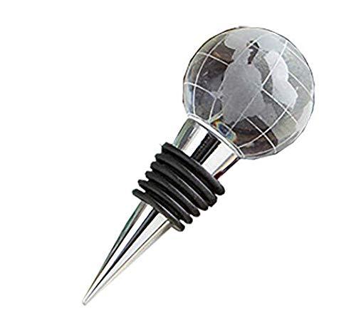 Glass Globe Design Wine Bottle Stopper (40)