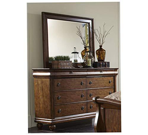 Wood & Style Furniture Landscape Mirror, 46