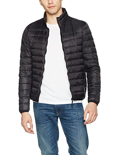Colors Chaqueta Hombre Jacket Benetton United of Black para Negro Sg614gnqx