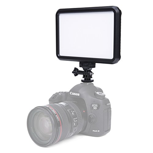 G-raphy LED Dimmable Ultra High Power Panel / Camcorder Video / Digital SLR Camera LED Light for Digital SLR DSLR Cameras