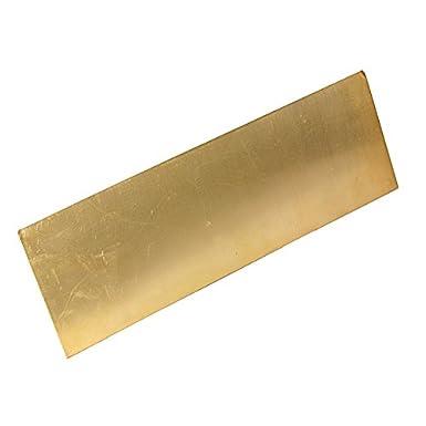 ChenXi Shop 0,5 x 300 x 300 mm, 99,9/% Placa de metal de cobre puro