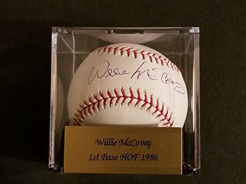 Willie Mccovey Signed Autograph PSA/DNA Certified Graded Baseball 90 Hof (Baseball Willie Mccovey Signed)