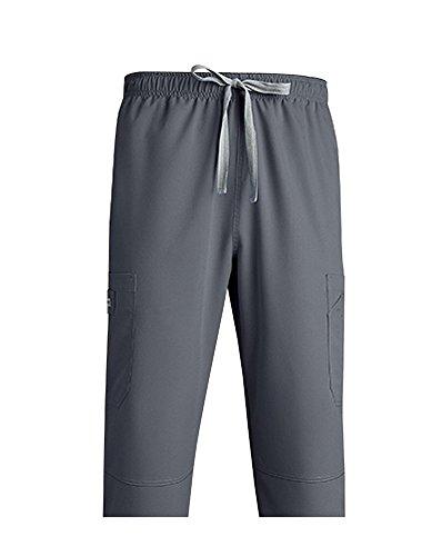 Grey's Anatomy 0212 Men's Draw Tie Pant Nickel - Nickel Men
