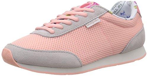 Desigual Primavera - Zapatillas Mujer Rosa / Gris