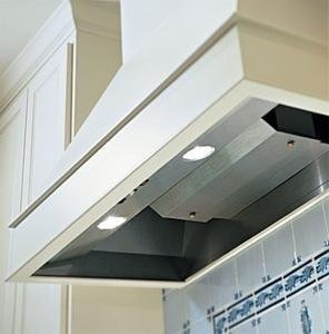 Wall Liner Hood Dual Blower (Square Sides Wall Mount Liner Size: 36