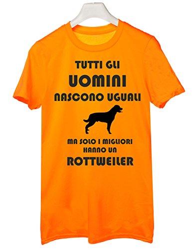 Humor Cani Tutti Un Tshirt Migliori Dog Tutte Uguali Solo Le Ma Rottweiler I Taglie Nascono Arancione Hanno Uomini Gli 6vdqwv7