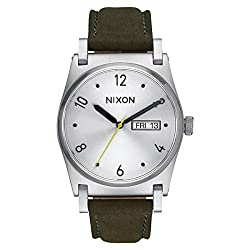 Silver/Surplus The Jane Leather Watch by Nixon