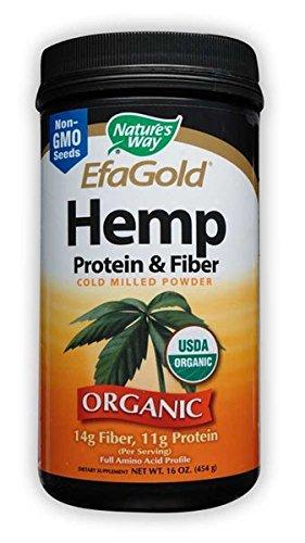 Nature's Way Hemp Protein and Fiber Powder, 16 (Protein And Fiber Powder)