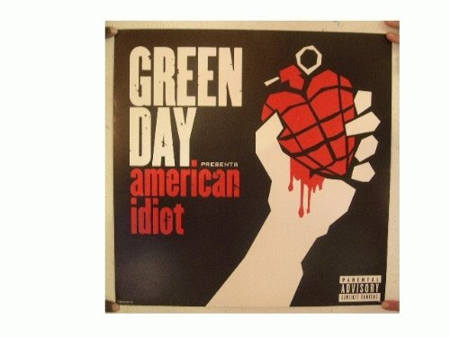 Green Day Poster American Idiot