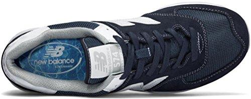 NBML574MON Uomo Blu New Bianco scuro Sneaker Balance w5P1Bq