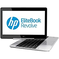 "HP EliteBook Revolve 810 G1 Tablet PC , Intel Core i3-3227U, 1.90 GHz, 128 GB, Intel HD Graphics 4000, Windows 7 Professional 64-Bit, Black, 11.6"" (Certified Refurbished)"