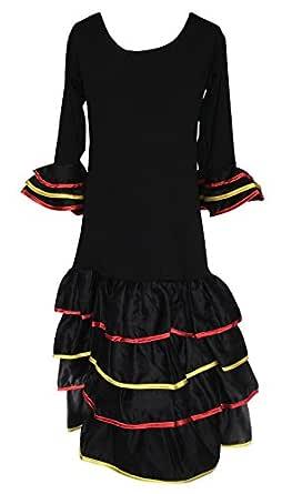 La Senorita Vestido Flamenco España Traje de Flamenca chica/niños ...