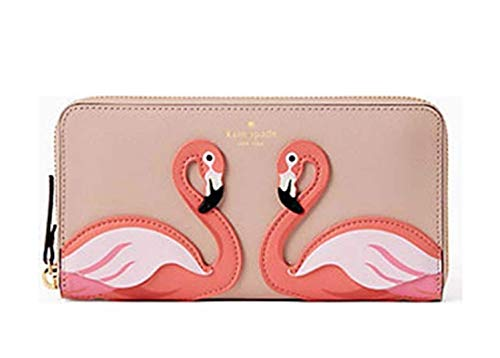 Kate Spade Flamingo By the Pool Large Continental Wallet ()