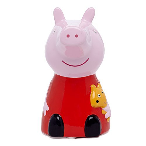 FAB Starpoint Peppa Pig Ceramic Bank ()
