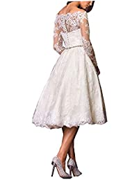 Amazon.com: Long Sleeve - Wedding Party / Dresses: Clothing, Shoes & Jewelry