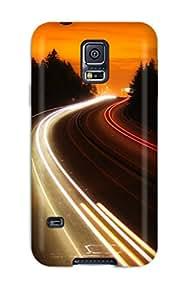 Rachel Kachur Bordner's Shop 3882116K18096888 Premium Protective Hard Case For Galaxy S5- Nice Design - Interstate Highway