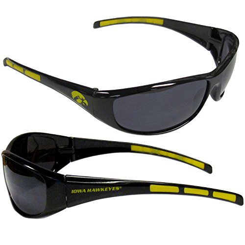 Siskiyou NCAA Iowa Hawkeyes Wrap Sunglasses