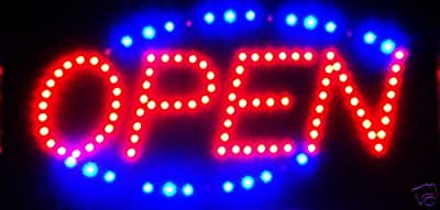 CO-RODE Small LED Sign Display Shop Board Neon Business Light Signs