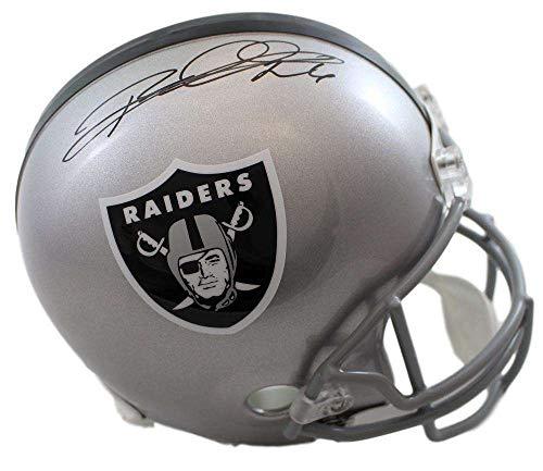 Rod Woodson Autographed/Signed Oakland Raiders Replica Helmet JSA