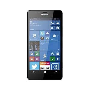 "Microsoft Lumia 950 SIM única 4G 32GB Negro - Smartphone (13,2 cm (5.2""), 3 GB, 32 GB, 20 MP, Windows 10, Negro)"