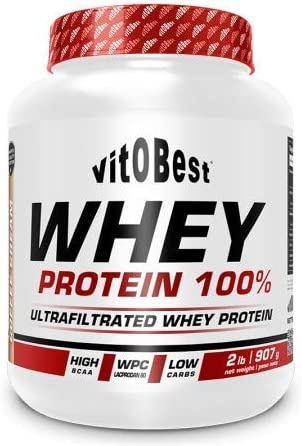 WHEY PROTEIN 100% 2 lb GALLETA - Suplementos Alimentación y Suplementos Deportivos - Vitobest