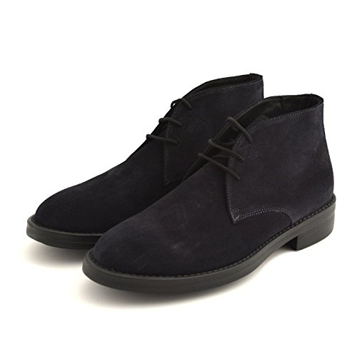 Soldini , Chaussures de ville à lacets pour homme bleu bleu