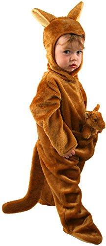 Kangaroo Costume Toddler (Toddler Kangaroo Costume, Size Toddler 2T)