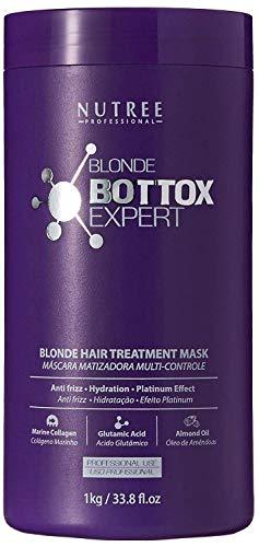 Blonde Botox Expert Purple Hair Treatment 33.8 fl.oz - Best for Blonde Hair - Anti-Brass