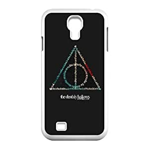 Samsung Galaxy S4 I9500 Phone Case White Deathly Hallows WQ5RT7541530