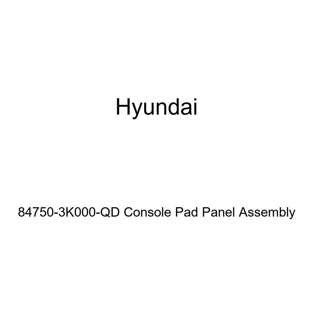 Genuine Hyundai 84750-3K000-QD Console Pad Panel Assembly