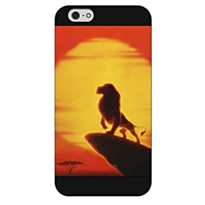"""Customized Black Hard Plastic Disney Cartoon the Lion King iPhone 6 4.7 Case, Only fit iPhone 6 4.7"""""""