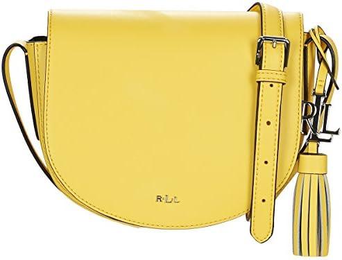 Ralph Lauren - Bolso de asas para mujer amarillo amarillo: Amazon.es: Zapatos y complementos