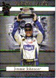 2006 VIP #48 Jimmie Johnson Sunday Glory Talladega 5/1/06 ()