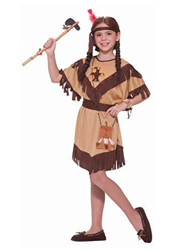 Forum Novelties Native American Princess Costume, Child's Large (Best Baby Girl Halloween Costumes)