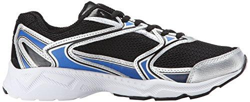 Fila Xtent 2 Zapatilla deportiva Black/Prince Blue/Metallic Silver