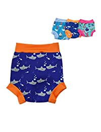 Baby Swim Diaper Swim Trunk Reusable Briefs - Kids Swim Nappy Swimsuit Pants