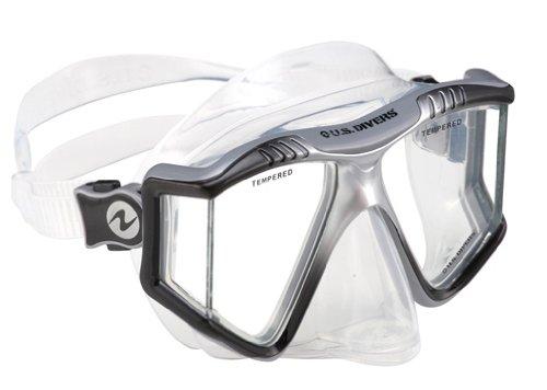 U.S. Divers Adult Lux LX Purge Snorkel Mask (Black)