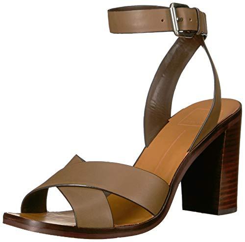 Dolce Vita Women's NALA Sandal, Olive Leather, 7 M US