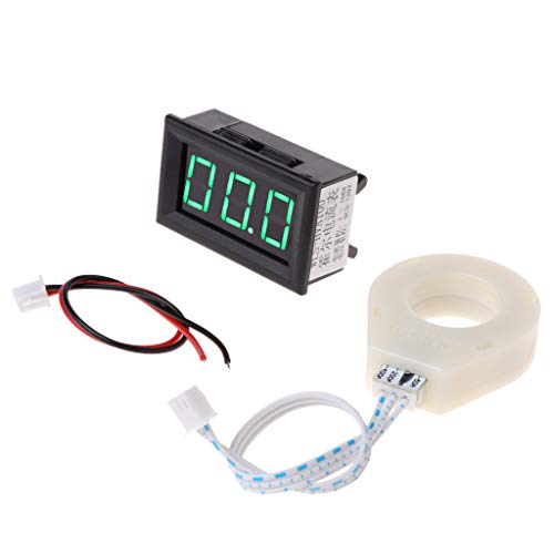 DC 5-120V 100A Digital Voltmeter Current Voltage Amp Meter W Hall Effect ()