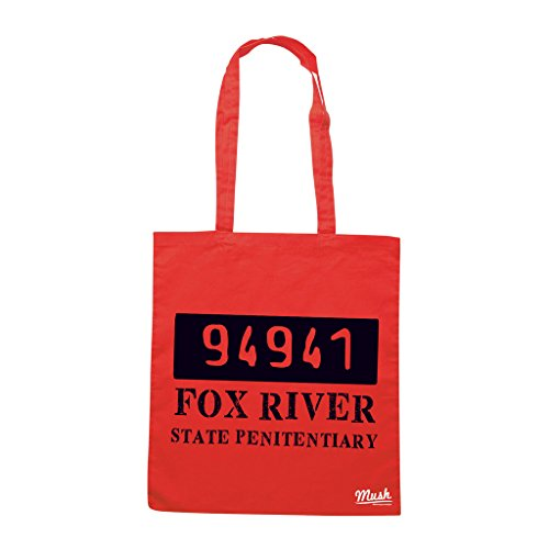 Borsa PRISON BREAK FOX RIVER 94941 - Rossa - FILM by Mush Dress Your Style