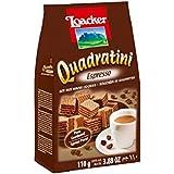 Loacker Quadratini Espresso Wafer, 110g