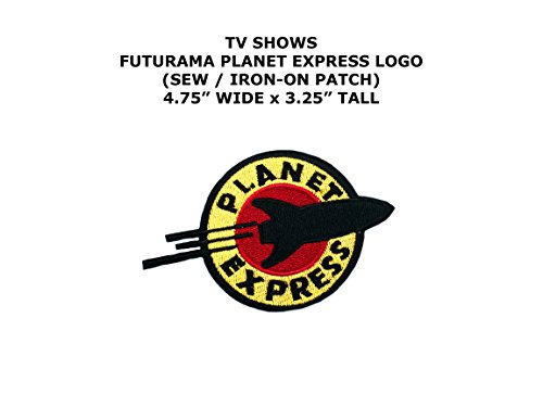 Diy Futurama Costumes (Planet Express Futurama TV Show DIY Embroidered Sew or Iron-on Applique Patch Outlander Gear)