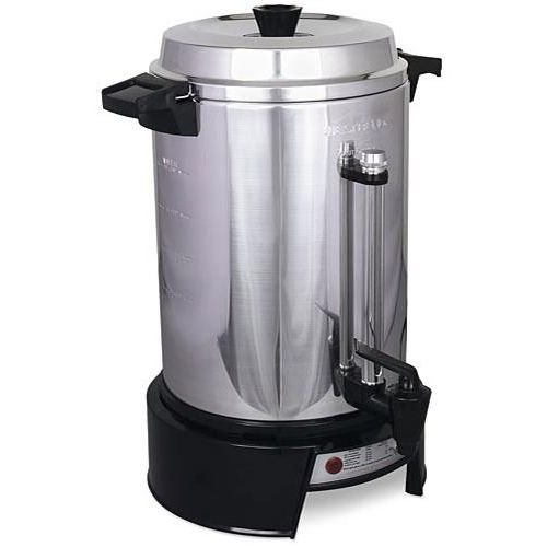 Alegacy Aluminum 55 Cup Percolator, 110 Volt -- 1 each. by Alegacy