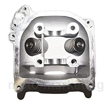 50 cc CYLINDER HEAD ASSY with VALVES for LEXMOTO VALENCIA MOLLY FLASH 50